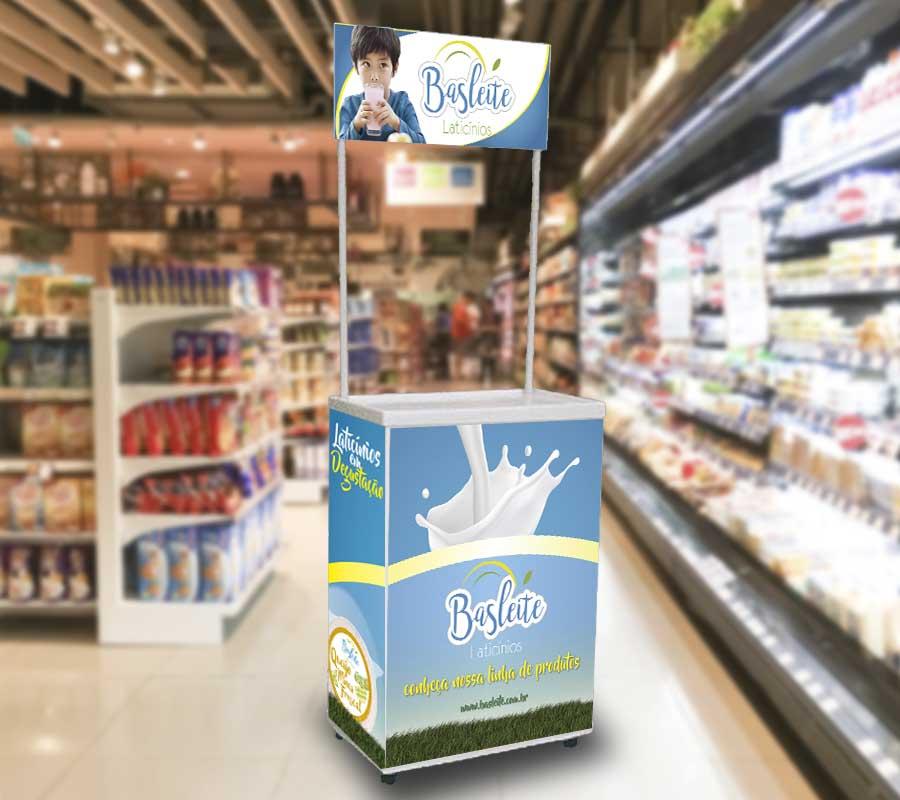 Totem para Álcool gel – Fersol